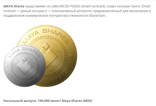 инвестиции в MAYA Shares