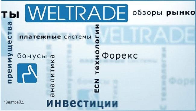 инвестиции для трейдинга через брокера Weltrade