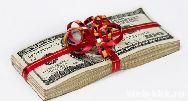 бонусы с партнерских программ инвест-проектов